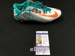 #11 Devante Parker Miami Dolphins Signed Game Used Nike Right Cleat Jsa Coa Sz10
