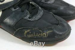 1991 Kirby Puckett Signed Game Used Cleats Turf Shoes Jsa World Series Season