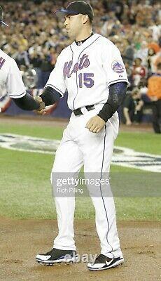 2006 Carlos Beltran Game Used Pe Signed Cleats! Mets! Cardinals! Yankees! Holo