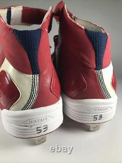 2009 St. Louis Cardinals Matt Holliday Game Used Cleats
