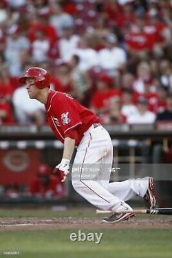 2012 Cincinnati Reds Todd Frazier GAME USED WORN Cleats (ROOKIE YEAR) withCOA