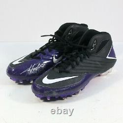 2013 Adrian Peterson Signed Game Used Cleats Vikings 2 Touchdown Game Photomatch