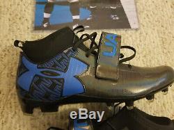 2014 Carolina Panthers Game Used Worn Cam Newton Cleats