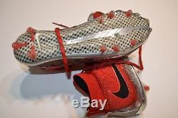 2014 Ohio State University National Champs Game Used Worn Cleats