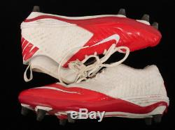 2016 Alex Smith #11 Kansas City Chiefs Game Used Cleats