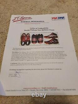 2016 Dustin Pedroia Game Used Pe Cleats! Boston Red Sox! Psa Dna Loa