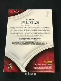 2016 Panini Immaculate Game-Used Cleats 1/3 ALBERT PUJOLS Patch RM4