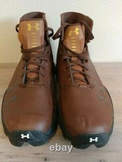 2017 Game Used Team Issued University of Notre Dame Knute Rockne Football Cleats