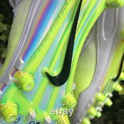 2017 NFL AFC Pro Bowl Game Used Nike Promo Cleats Zoom Code Elite Shark Volt 17
