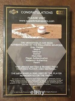 2018 Super Break MLB Ken Griffey Jr. Superfoil Stamp Game Used Nike Cleat 1/1