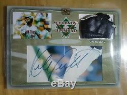 2018 The Bar KIRBY PUCKETT Legends of the Diamond 1/1 Game Used Cleats Auto Twin