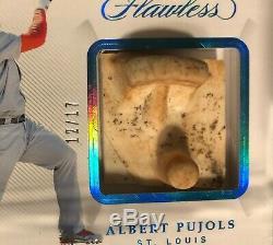 2019 Flawless Spikes #12/17 Albert Pujols CARDINALS Encased Cleats Game-Used