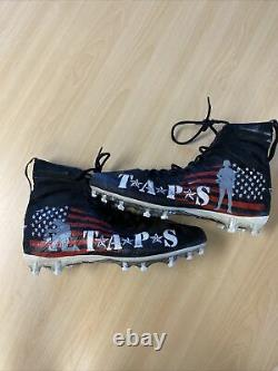 2019 George Kittle My Cause My Cleats Game Used Worn 49ers Cleats
