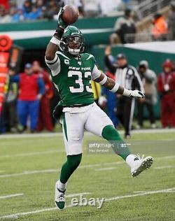 2019 Jordan PE Jamal Adams New York Jets Game Worn Used Player Exclusive Cleats