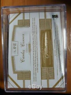 2019 Panini Flawless CARLOS CORREA Game-Used CLEAT RELIC Spikes #/16 SP Astros
