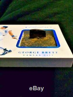 2019 Panini Flawless George Brett Spikes Game Used Shoe Cleat Spike /9 Rare