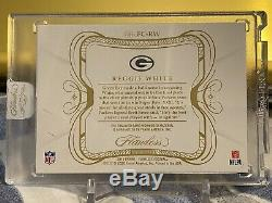 2019 Reggie White Flawless Nike Swoosh Cleat Relic #4/5 GAME USED! RARE