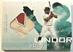 2019 TOPPS X LINDOR Francisco Lindor Game Worn Cleat Relic #08/25