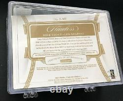 2020 Panini Flawless Mike Trout Spike Game Used Cleat #7/14 Angels