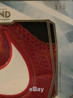 2020 Topps Diamond Icons Max Scherzer Game Used Nike Shoe Logo Patch Cleat 5/5