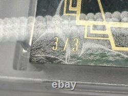 2021 Diamond Icons #d 3/3 Ivan Pudge Rodriguez Game Used Gold Ink Cleat Relic