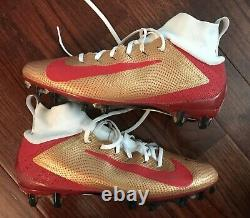 49ers DEEBO SAMUEL 2019 Game Worn Autographed Cleats Used San Francisco
