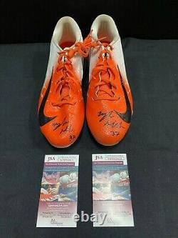 #89 Miami Dolphins Game Used Nike Cleats Signed By Myles Gaskin Jsa Wit Coa