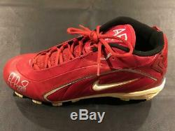 ALBERT PUJOLS Signed Auto RARE Game Used Cleats Pujols COA ANGELS CARDINALS