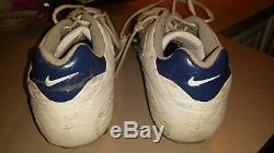 AQUIB TALIB Denver Broncos / LA Rams signed, game used Nike cleats
