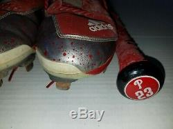Aaron Altherr Philadelphia Phillies Game Used Bat Game Used Cleats Mlb All Star