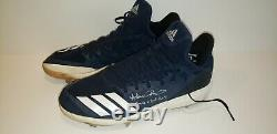 Adam Ottavino New York Yankees GAME USED AUTOGRAPH CLEATS MLB ALL STAR