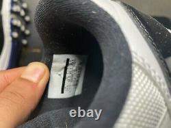 Air Jordan 11 Retro Low TD Cleat Game WHITE/BLACK-CONCORD-BLACK size 11.5