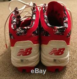 Albert Pujols MLB Holo Game Used Cleats 2016 Los Angeles Angels