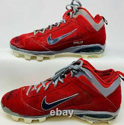 Albert Pujols Signed Game Used Autographed Cleats PSA DNA COA P81659 P81652
