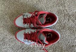 Albert Pujols Signed Game Used Cleats Autographed