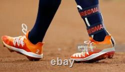 Alex Bregman 2019 Houston Astros Game Used Custom Adidas Cleats AUTO April
