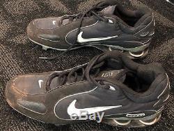 Alex Rodriguez Arod Game Used Nike Cleats Yankees Coa Mears Lampson