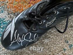 Alex Smith Washington Redskins Dual Autographed Game Used Promo NFL Cleats 49ers