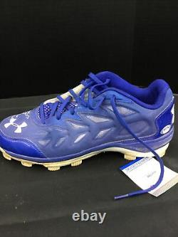 Alex Verdugo Dodgers Boston Red Sox Signed Game Used Cleats Psa Ah22076 / 77