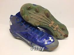 Alex Verdugo Signed 2017 Game Used Dodgers Baseball Cleats Cleats Beckett