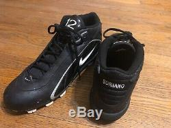 Alfonso Soriano Game Used 2003 Personalized Yankees Cleats! WORLD SERIES