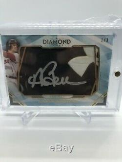 Andrew Benintendi 2020 Topps Diamond Icons Game Used/autograph Cleat 1/3