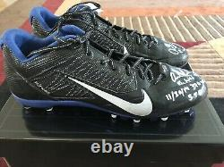 Andrew Luck Signed Game Used Cleats Panini