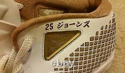 Andruw Jones Game Used PE All Star Game Cleats! Japan! Yankees! RARE! LOA