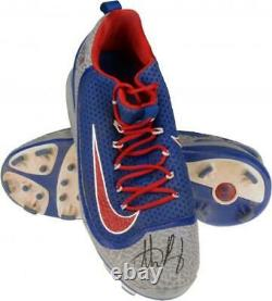 Anthony Rizzo Chicago Cubs Signed GU Cleats & NLCS Game Used Insc