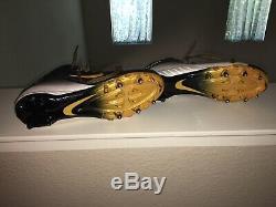 Antonio Brown Game Used Cleats Nike Alpha Pittsburgh Steelers Oakland Raiders LV
