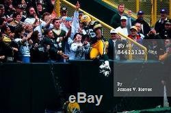 Antonio Freeman Game Used Worn Signed Packers NFL Football Cleats SB XXXI JSA ++