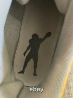 Auth Rare NFL ANTONIO BROWN GAME USED CUSTOM AB NIKE Promo 2017 Steelers CLEATS