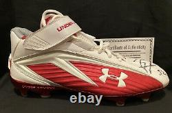 Baltimore Ravens Ray Lewis Game Used Autographed Pro Bowl Cleat Withcoa Orioles