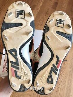 Barry Bonds Autographed Signed Game Used Cleats